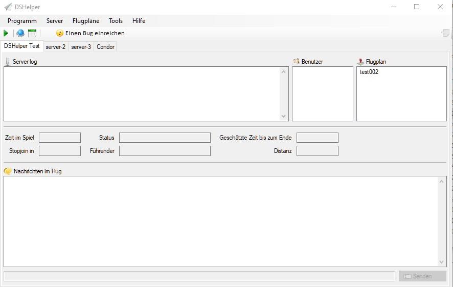 Screenshot vom DSHelper